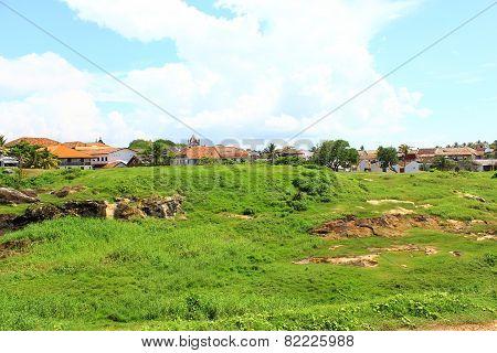 The inner area of Galle Fort, Sri Lanka