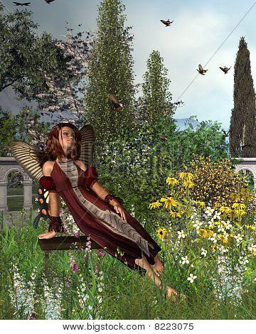 Garten Schmetterling fairy