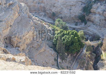 Israel. St. George's Monastery