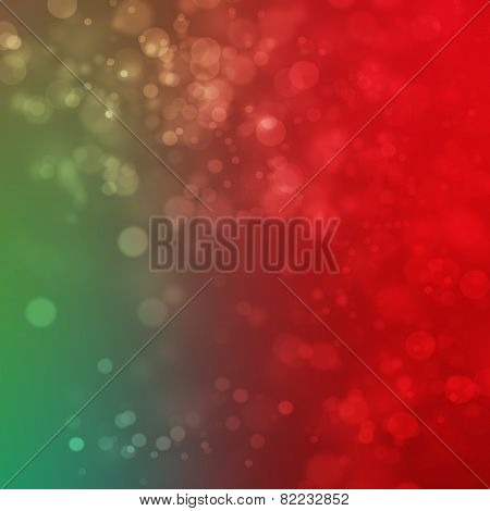 Colorful Bokeh Abstract