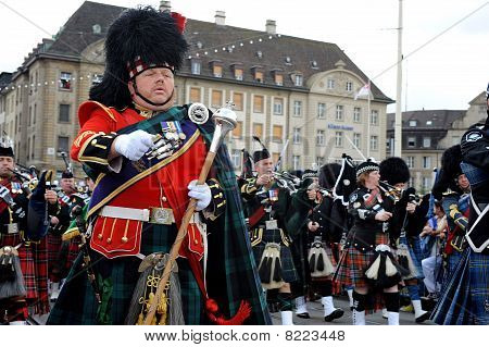Basel Tattoo, Switzerland 2010