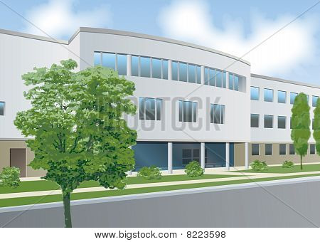 Offices Curved Front.eps