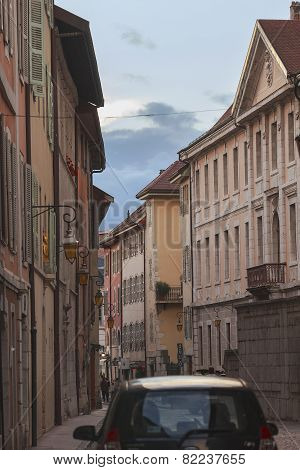 Old Street In Annecy