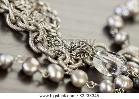 Assorted Silver Costume Jewellery