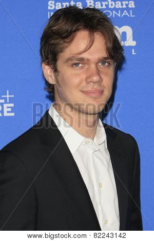 SANTA BARBARA - FEB 1:  Ellar Coltrane at the Santa Barbara International Film Festival - Virtuosos Award at a Arlington Theater on February 1, 2015 in Santa Barbara, CA