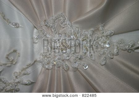 Wedding Dress Lace and Beads