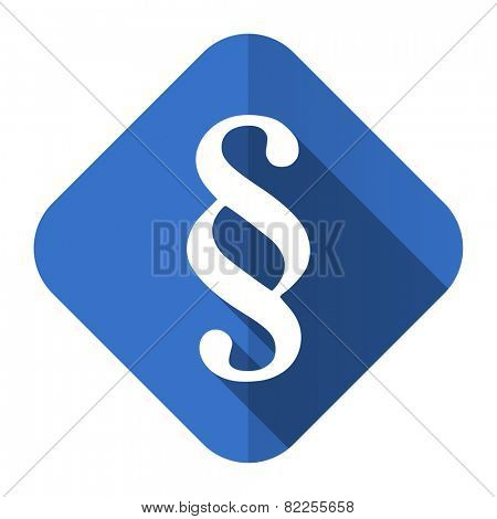 paragraph flat icon law sign