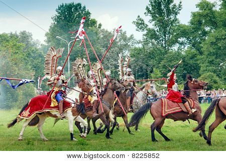 Charge Of Polish Hussars
