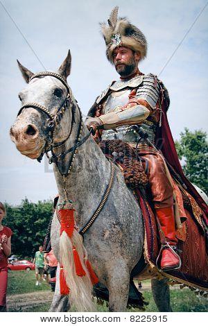 Nobleman on a horse