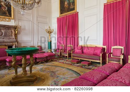 Interior Grand Trianon In Versailles