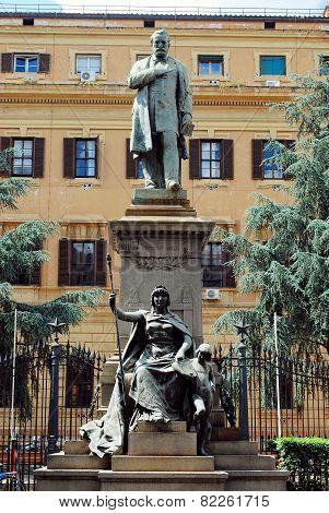Quintino Sella (7 July 1827 - 14 March 1884) Was An Italian Statesman And Financier.