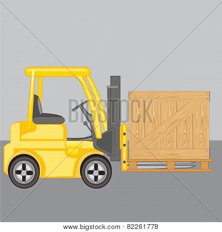 Machine for loading  loads box