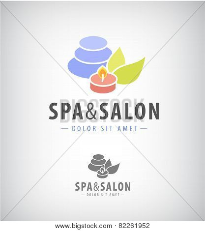 spa salon relax icon isolated