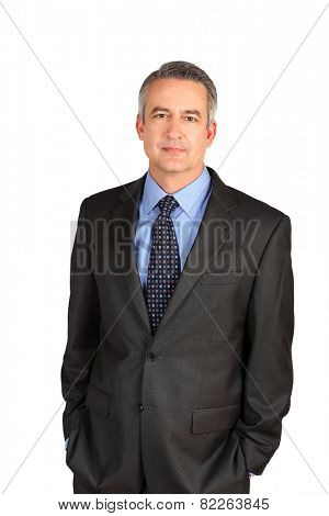 Portrait of a mature business man