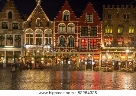 Bruges At Christmas.