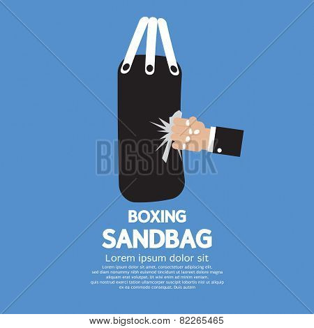 Sandbag.