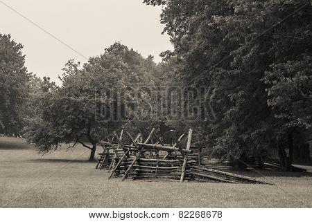 Battlefield Fence