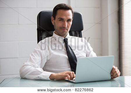 male businessman in the office
