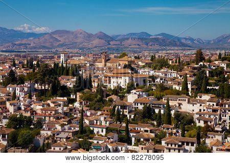The Albaician Quarter Of Granada