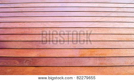 Slatted Wooden Wall