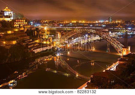 Dom Luise Bridge, Porto