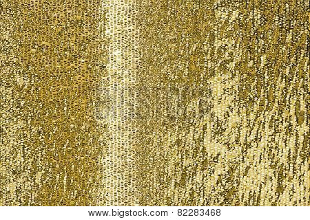 Gold Mosaic Pattern