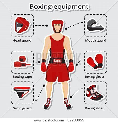 Sport equipment for boxing martial arts