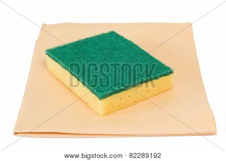 Sponge And Rag