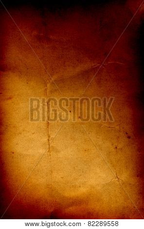 Concept or conceptual old vintage brown burned paper background, metaphor to antique, grunge, texture, retro, aged, grungy, ancient, dirty, torn, damaged, stained, frame, manuscript, material designs