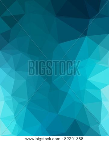Low Poly trangular trendy hipster background for your retro flyer, stylish brochure, poster background and vintage applications.