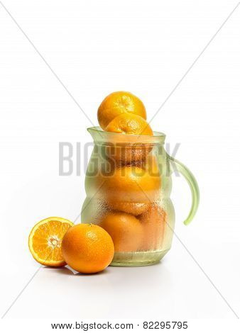 Jug Juice Orange Frosted