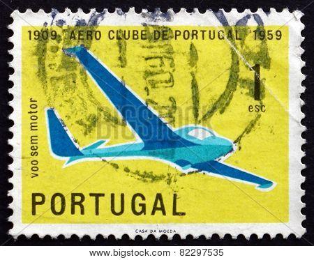 Postage Stamp Portugal 1960 Glider