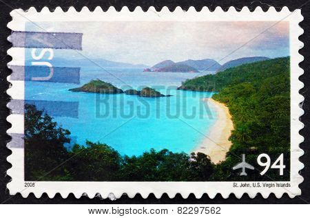 Postage Stamp Usa 2008 St. John, Us Virgin Islands