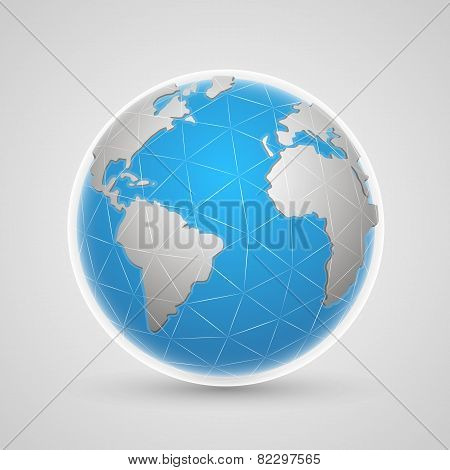 Planet network earth