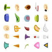 pic of human ear  - human and monster ear collection  - JPG