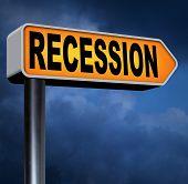 stock photo of stock market crash  - recession economic market crash global bank and stock market crisis - JPG