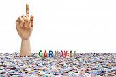 stock photo of brazilian carnival  - Brazilian Carnival - JPG