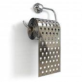pic of toilet  - Hemorrhoids concept - JPG