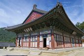 picture of south east asia  - Beautiful Haeinsa temple exterior - JPG
