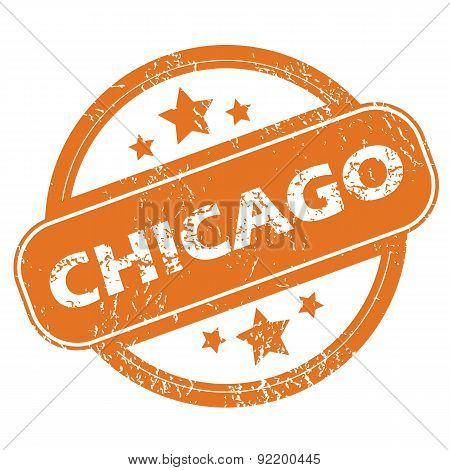 Chicago round stamp