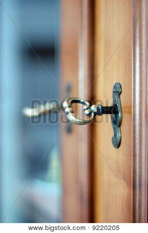 Lock And Key Close-up