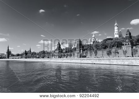 View Of Moscow Kremlin