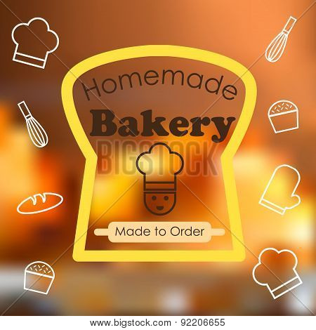 Homemade Bakery Graphic Vector Style