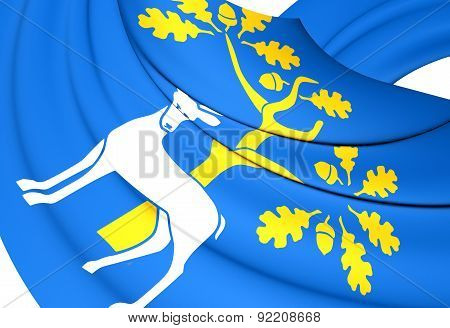 Flag Of Berkshire, England.