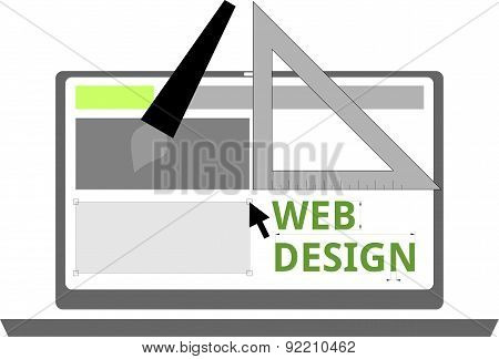 vector - web design