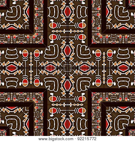 Tribal Art Abstract Pattern
