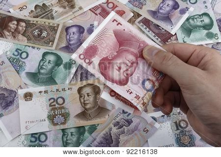 A Day In China (chinese Money Rmb)