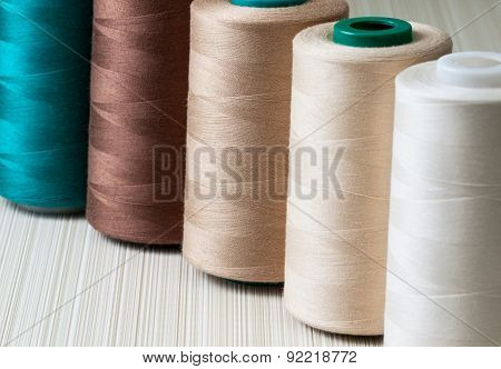 L Spools Of Thread