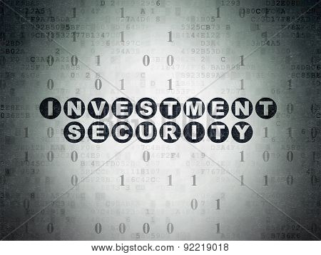 Security concept: Investment Security on Paper background