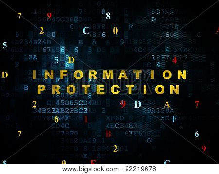 Safety concept: Information Protection on Digital background